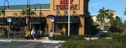 Ruby Tuesday is one of DRINKING in SRQ.