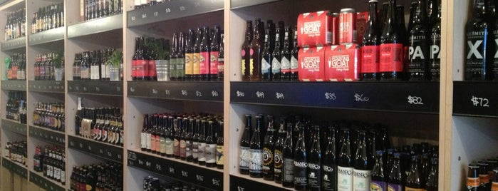 The Bottle Shop is one of Craft Beer in Hong Kong.