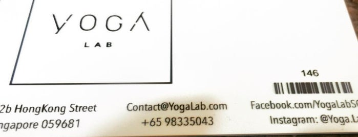 Yoga Lab is one of Yoga.