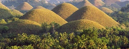 The Chocolate Hills is one of World Heritage Sites List.