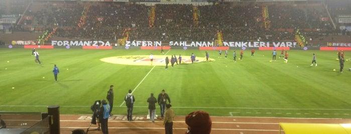 Eskişehir Atatürk Stadyumu is one of International Sports~Part 1....