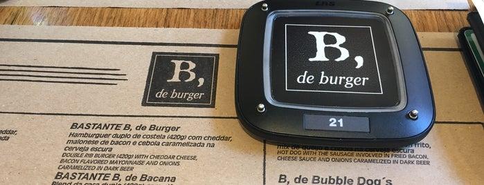 B, de burger is one of สถานที่ที่ Jacqueline ถูกใจ.