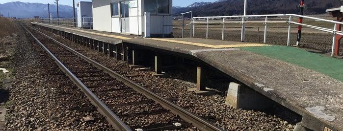 Negishi Station is one of JR 미나미토호쿠지방역 (JR 南東北地方の駅).