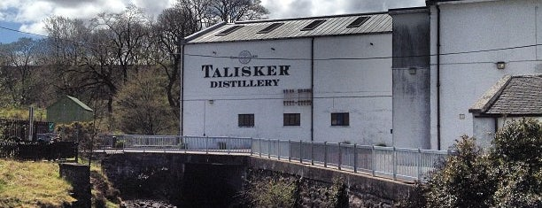 Talisker Distillery is one of Scotland.