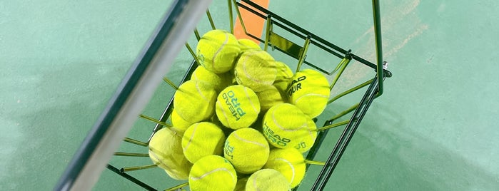 In Tennis Academy is one of Alhatoon'un Kaydettiği Mekanlar.