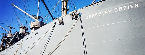 SS Jeremiah O'Brien is one of Tempat yang Disimpan Phil.