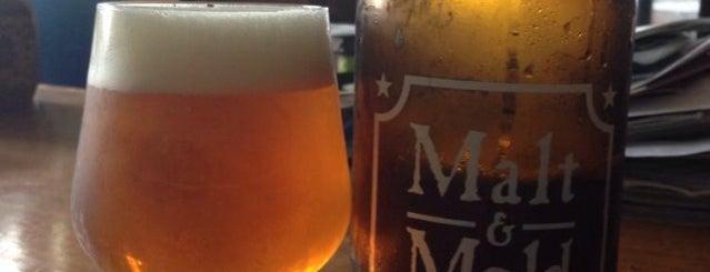 Malt & Mold is one of NYC Good Beer Passport (2014).