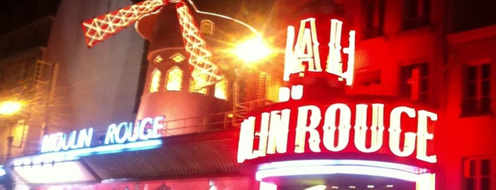 Moulin Rouge is one of Eurotrip.