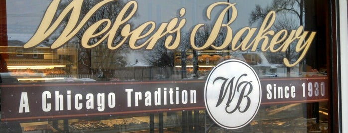 Weber's Bakery is one of C H I C A G O.