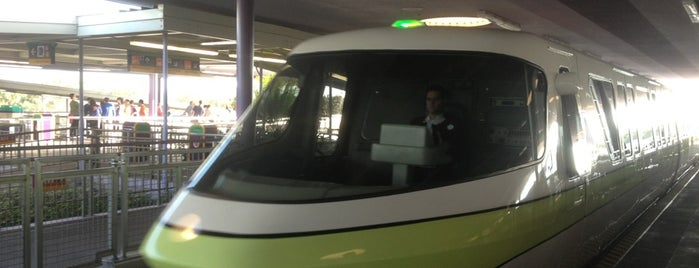 Monorail Lime is one of Transportation & Misc Disney World Venues.