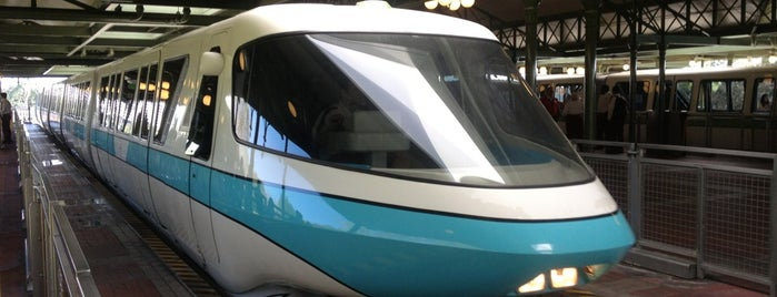 Monorail Teal is one of Transportation & Misc Disney World Venues.
