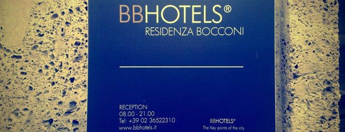BB Hotels Residenza Bocconi is one of Tempat yang Disukai Alexey.
