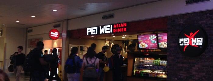 Pei Wei Asian Diner is one of Tempat yang Disukai Adriana.