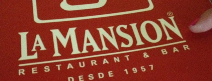 La Mansión is one of Restaurantes México.