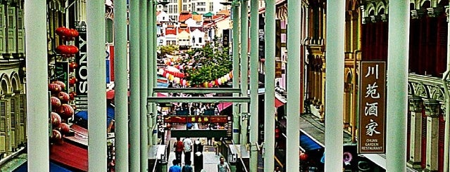 """Chinatown is one of TPD """"The Perfect Day"""" Singapore (1x0)."""