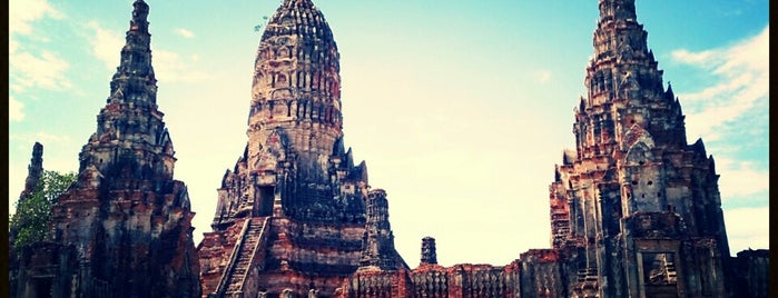 Wat Chai Watthanaram is one of Trips / Thailand.