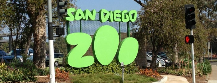 San Diego Zoo is one of Out of town.
