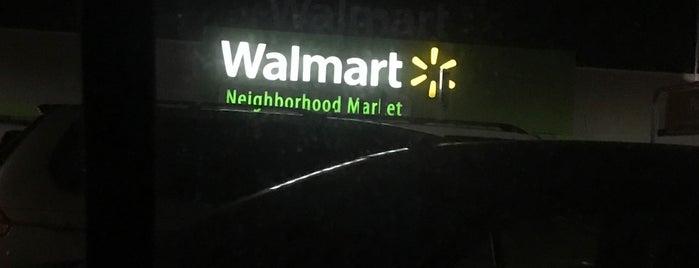 Walmart Neighborhood Market is one of Tempat yang Disukai Chris.