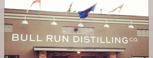 Bull Run Distilling is one of NW Distiller's District - PDX.
