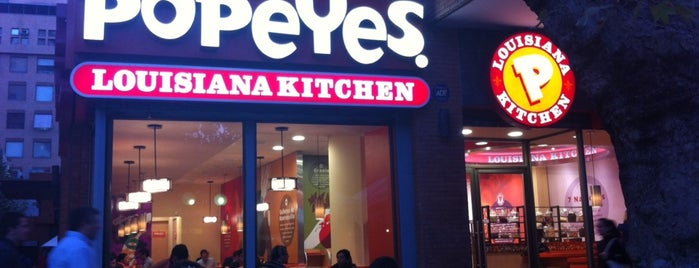 Popeyes Louisiana Kitchen is one of SCL-Restaurant.