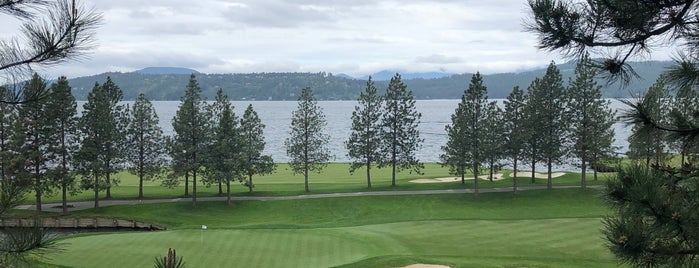 Coeur d'Alene Resort Golf Course is one of The Ultimate Golf Course Bucketlist.
