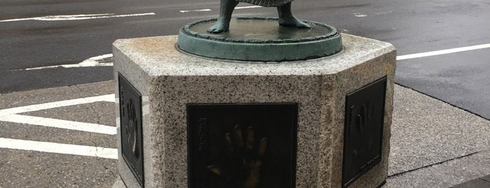 両国駅前の力士の手形 is one of Tokyo-Ueno South.