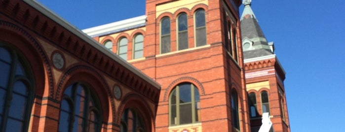 Arts and Industries Building is one of DC Bucket List.