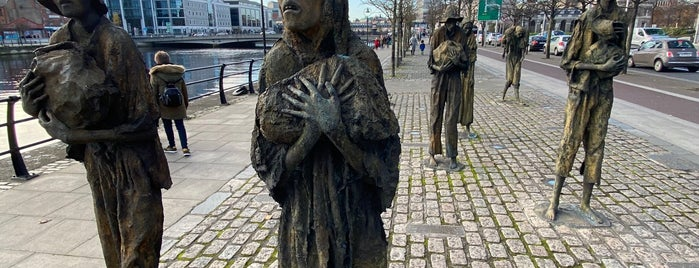The Famine Memorial is one of Odd And Thought-Provoking Monuments.