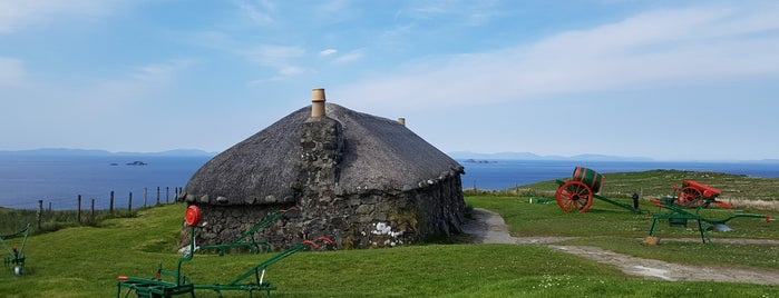 Skye Cottage Museum is one of Lieux sauvegardés par Sevgi.