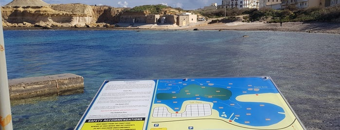 Xwejni Bay is one of VISITAR Malta.