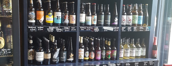Highbury Vintners is one of London's Best for Beer.