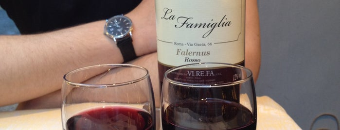 La Famiglia is one of Rome.