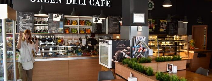 Green Deli Café is one of Tempat yang Disukai Zorata.