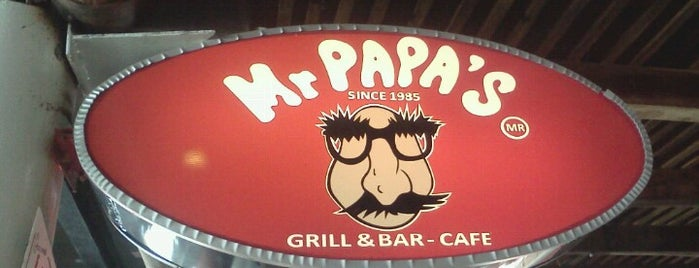 Mr. Papa's is one of Lieux qui ont plu à Iván.