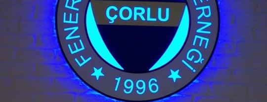 Çorlu Fenerbahçeliler Derneği is one of สถานที่ที่ Aliko ถูกใจ.