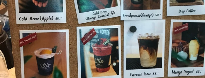 A LITTLE CAFE is one of 07_ตามรอย_coffee.