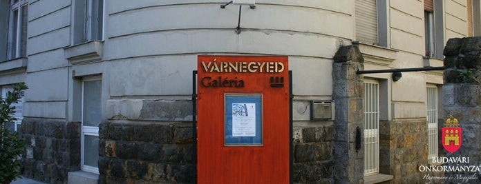 Várnegyed galéria is one of Zsolt's Liked Places.