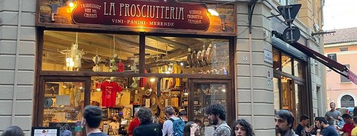 La Prosciutteria Firenze is one of Bologna.