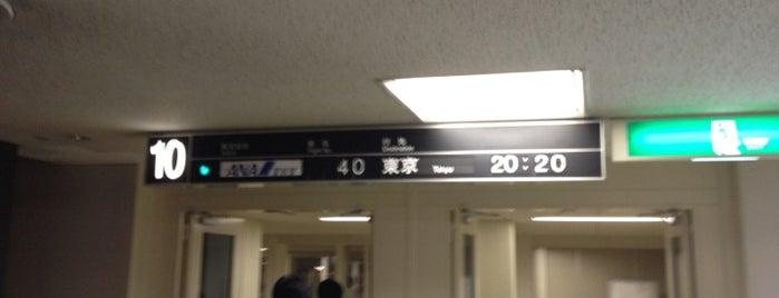 Gate 10 is one of 大阪国際空港(伊丹空港) 搭乗口 ITM gate.