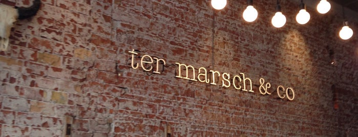 Ter Marsch & Co is one of Locais curtidos por Frank.