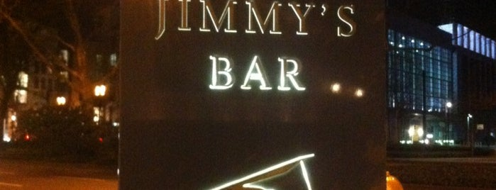 Jimmy's is one of Best Cocktail Bars in Europe.
