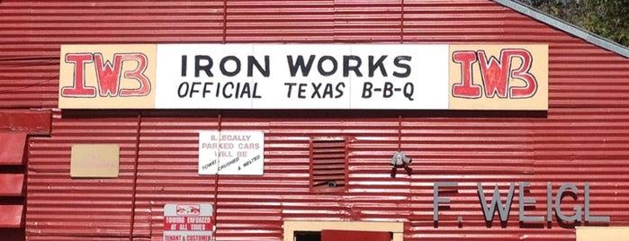 Iron Works BBQ is one of SXSW 2013.