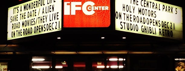 IFC Center is one of NYCool Movie Theatres.