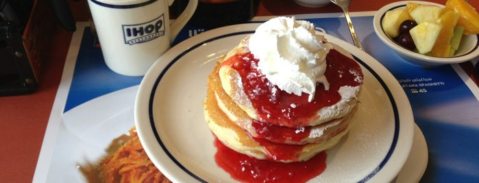 IHOP is one of To be visited soon.