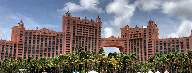 Atlantis Paradise Island is one of Nassau, Bahamas.