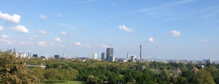 Primrose Hill is one of London Town.