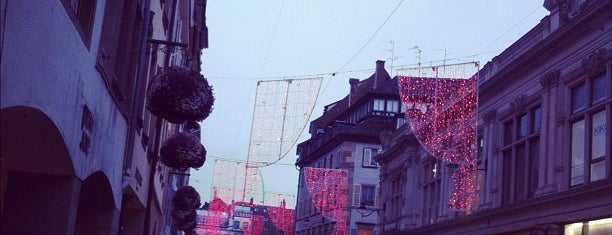 Rue des Grandes Arcades is one of Alsace.