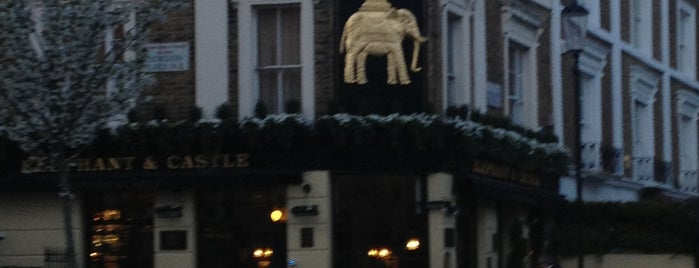 The Elephant & Castle is one of Best pubs in Kensington.