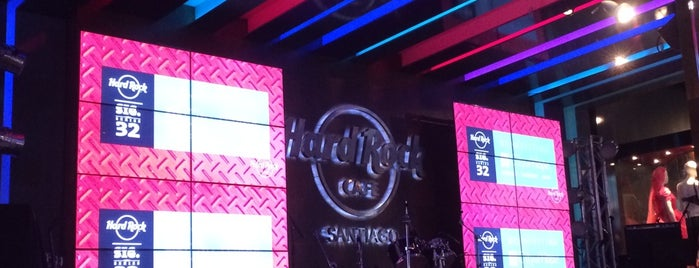 Hard Rock Cafe Santiago is one of Chile!.