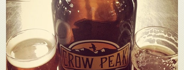 Crow Peak Brewing Company is one of Brewery Tours.